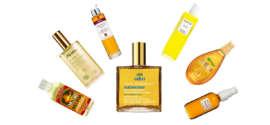 Shopping list huiles pour le corps