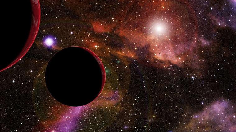 Univers étoiles nébuleuse planètes