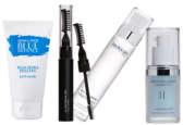 Les quatre produits qui composent la box hiver de beauty press