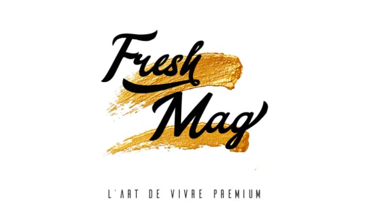 Logo et slogan du magazine Fresh Mag